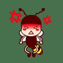 Bee girl Hana sticker #281806