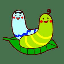 Bee girl Hana sticker #281808