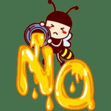 Bee girl Hana sticker #281813