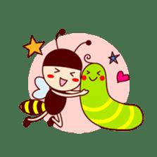 Bee girl Hana sticker #281814