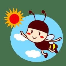 Bee girl Hana sticker #281817