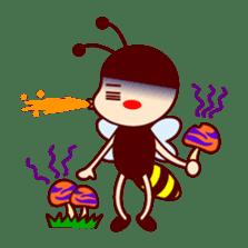 Bee girl Hana sticker #281820