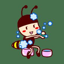Bee girl Hana sticker #281821