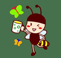 Bee girl Hana sticker #281823