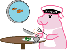 The Sailor Dugon Kukusshy sticker #282256