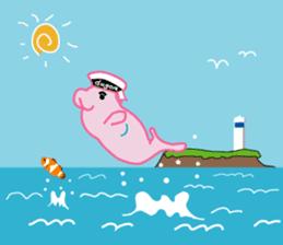 The Sailor Dugon Kukusshy sticker #282262