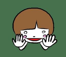 My name is YUKOSAMA sticker #282589