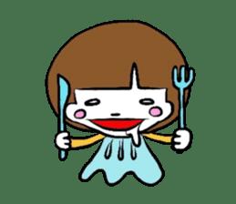 My name is YUKOSAMA sticker #282609