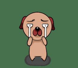 Chibi Dog sticker #282835