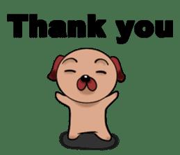 Chibi Dog sticker #282839