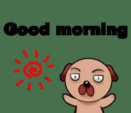 Chibi Dog sticker #282846