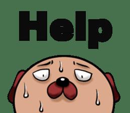 Chibi Dog sticker #282849