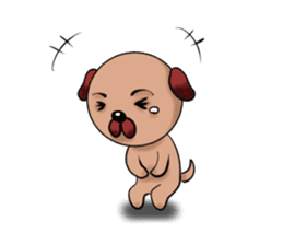 Chibi Dog sticker #282859