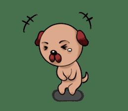 Chibi Dog sticker #282859