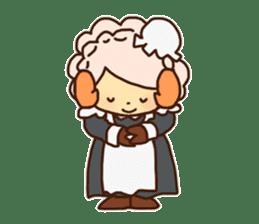 Hitsu-jii and Mei-chan sticker #283626
