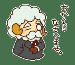 Hitsu-jii and Mei-chan sticker #283627