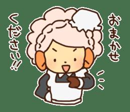 Hitsu-jii and Mei-chan sticker #283629