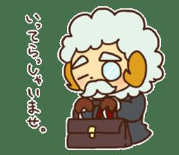 Hitsu-jii and Mei-chan sticker #283631