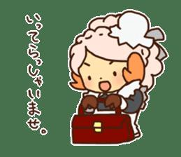 Hitsu-jii and Mei-chan sticker #283632