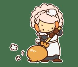 Hitsu-jii and Mei-chan sticker #283635