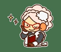 Hitsu-jii and Mei-chan sticker #283638