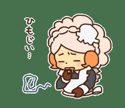 Hitsu-jii and Mei-chan sticker #283641