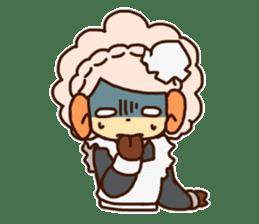 Hitsu-jii and Mei-chan sticker #283644