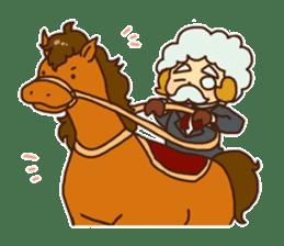 Hitsu-jii and Mei-chan sticker #283653