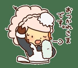 Hitsu-jii and Mei-chan sticker #283654