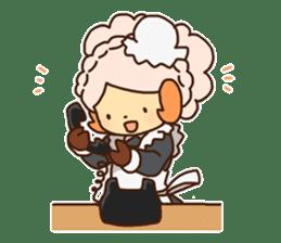 Hitsu-jii and Mei-chan sticker #283660