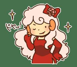 Hitsu-jii and Mei-chan sticker #283662