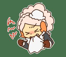 Hitsu-jii and Mei-chan sticker #283663