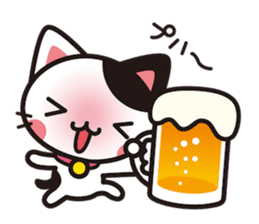 Cat that excuse cute sticker #283723
