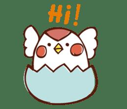 little bird sticker #283802