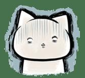 Negative cat(syobonyan) sticker #284030