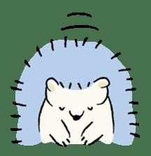 Animals inhabit the calm forest sticker #284289