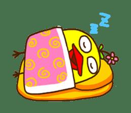 Crazy Chicken sticker #284389