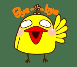Crazy Chicken sticker #284394