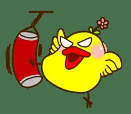 Crazy Chicken sticker #284397