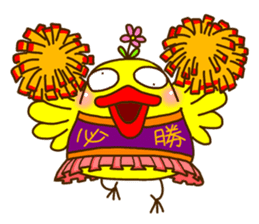 Crazy Chicken sticker #284399