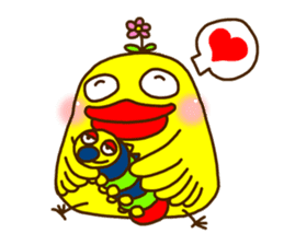 Crazy Chicken sticker #284409