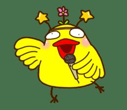 Crazy Chicken sticker #284414