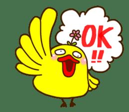 Crazy Chicken sticker #284418