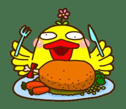 Crazy Chicken sticker #284421