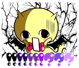 And his friends devil-chan sticker #284527