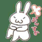 Cute rabbit NAOKICHI sticker #285226