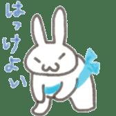 Cute rabbit NAOKICHI sticker #285229