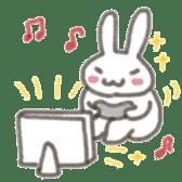 Cute rabbit NAOKICHI sticker #285245