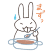 Cute rabbit NAOKICHI sticker #285251