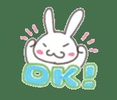 Cute rabbit NAOKICHI sticker #285253